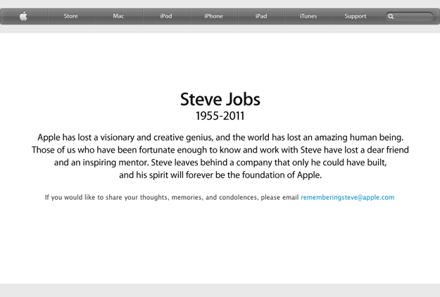 Remember Steve Jobs